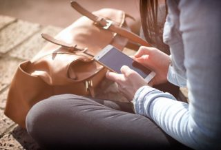 smartphones are the adult version of invisible friends